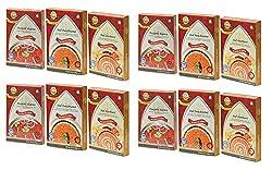 Sanskriti Combo of Punjabi Rajma, Dal Panchratni & Dal Darbari - Pack of 12 (4 each)