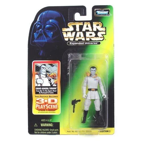 Star Wars: Expanded Universe Grand Admiral Thrawn Action Figure by Hasbro Inc (English Manual)