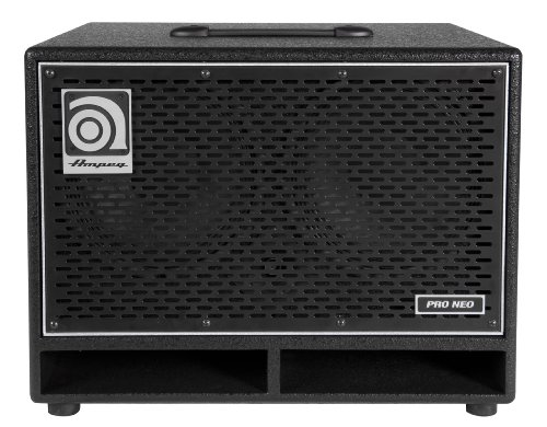 Ampeg Pro Neo Pn-210Hlf Bass Amp Cab, 2X10-Inch Speaker Cabinet, Neodymium Loaded, 550W Rms