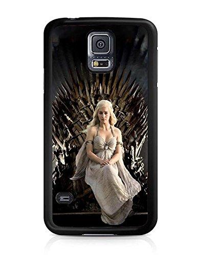 Game Of Thrones The Nights Watch Oath (Samsung Galaxy S5 Black Hard Plastic Phone Custodia Case/Cover)