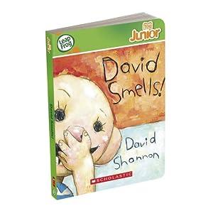 LeapFrog Tag Junior Book: David Smells $5