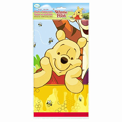 Winnie the Pooh & Pals Plastic Table Cover, 54