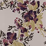 Meadow Monsoon Wallpaper Colour: Plum