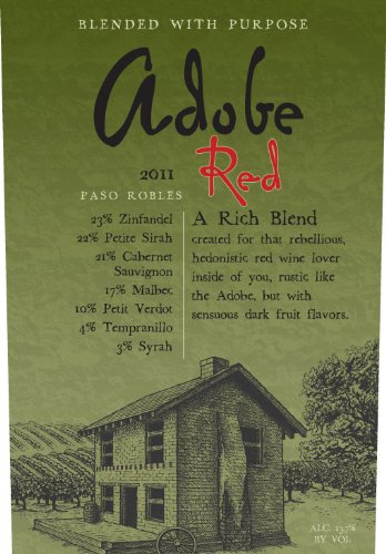 2011 Clayhouse Wines Adobe Red 750 Ml