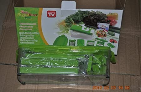 As Seen On TV Wholesale Nicer dicer plus 10-piece Multi-Chopper - Only $25.95