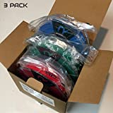 REPKORD V-LINE+ 3D Printer Filament PLA RGBPak1.75mm 1/2lb spools, Red, Green, Blue Bundle, Makerbot Compatible 0.03+/- diam (Pack of 3)