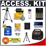 4GB Cameta Bonus Accessory Kit - for Canon Powershot S3 IS, S5 IS & SX100 IS Digital Cameras ~ Cameta Camera