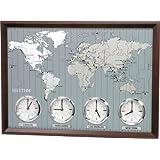 AROUND THE WORLD II by Rhythm Clocks