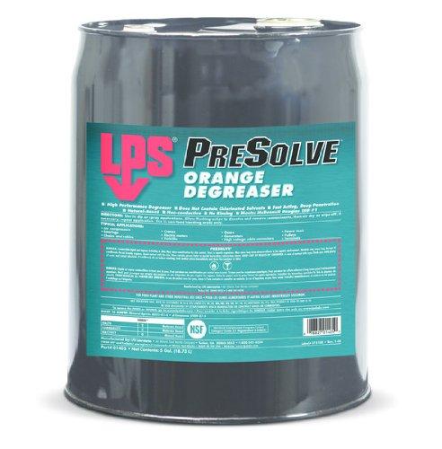 Lps 01405 Presolve Orange Degreaser, Clear