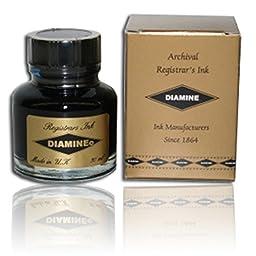 Diamine 30 ml Bottle Fountain Pen Ink, Registrar\'s Ink