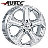 Alufelge Autec YUCON VW Golf VII Verbundlenkerhinterachse AU 8.0 x 18 Titansilber