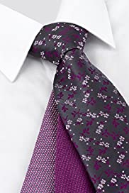 3 Pack Machine Washable Assorted Ties