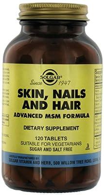 Solgar - Skin Nails & Hair Advanced MSM Formula