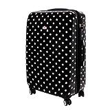 XXL Hardcase Suitcase TSA Polycarbonate 120 Liter black