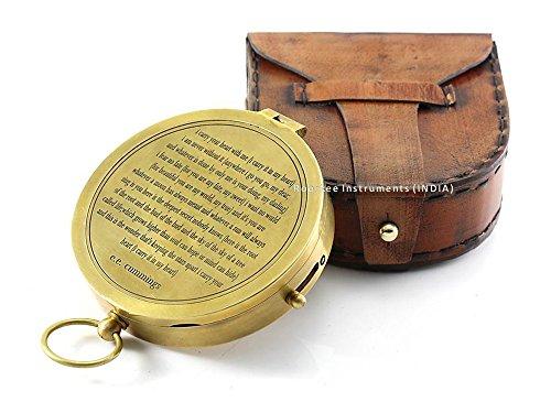 E. E. Cummings completa I Carry Your Heart Compass w/case