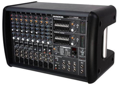 Mackie Ppm1008 1600 Watt Powered Mixer