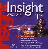 echange, troc Masson - Insight : Anglais, terminale (CD audio élève)