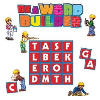 Bulletin Board Be a Word Builder - 1