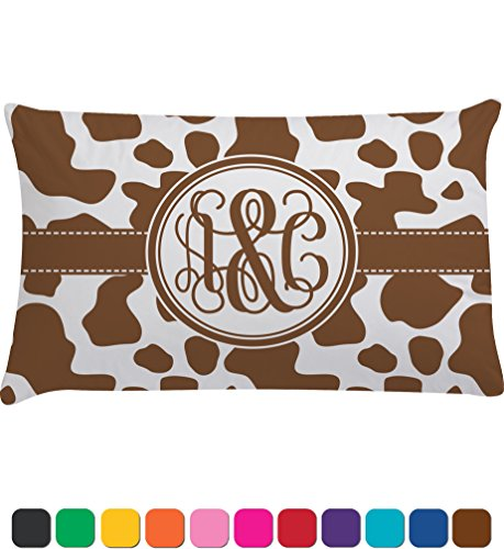 Cow Print Personalized Pillow Case - Toddler front-822105