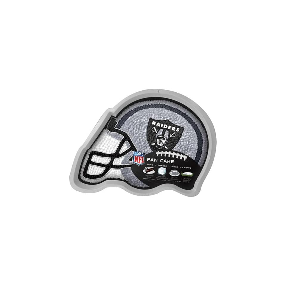 NFL Oakland Raiders Cake/Jell O Pan  Sports Related Tailgater Mats  Sports & Outdoors