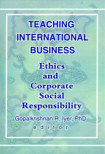 international business ethic The african journal of business ethics (ajobe) is the official journal of the  and  is accredited with the international bibliography of the social sciences (ibss.