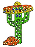 Navika Fiesta Cactus Swarovski Crystal Ball Marker with Hat Clip