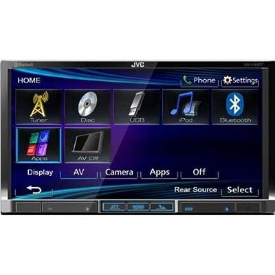 JVC KWV40BT Brand New Mobile 7-Inch D-DIN, DVD/USB