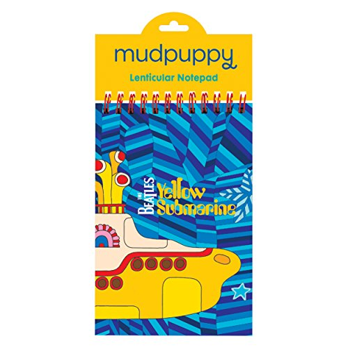 Mudpuppy The Beatles Yellow Submarine Lenticular Notepad - 1