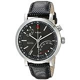 TIMEX® Unisex TW2P81700 Metropolitan+ Activity Tracker Quartz Analog Display Black Watch