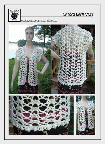 Lady'S Lace Vest - Crochet Pattern #119