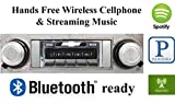 Bluetooth Enabled 1966-1967 Chevy El Camino USA-630 II High Power 300 watt AM FM Car Stereo / Radio USB, Aux, iPod inputs