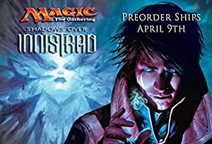 MTG Magic Shadows Over Innistrad Set of 5 Intro Packs PREORDER Ships On April 8th