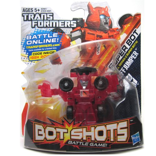 Transformers Bot Shots Jump Shot Cliffjumper Vehicle - 1