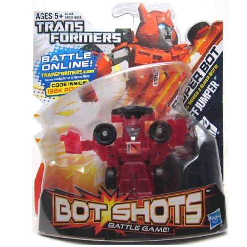 Transformers Bot Shots Jump Shot Cliffjumper Vehicle - 1