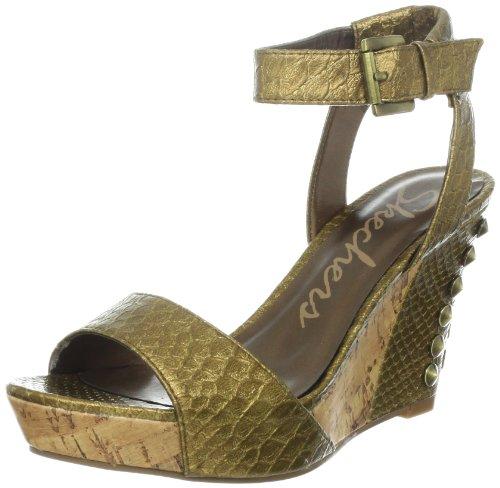 Skechers Women'S Sky Scrape Wedge Sandal,Bronze,7 M Us front-948336