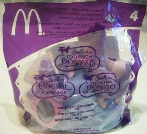 Mcdonalds 2005 Barbie Brietta Surprise #4 ( Magic of Pegasus ) - 1
