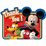 8-Count Mickey Postcard Thank You Notes