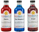 Hawaiian Shaved Ice - 3 Flavor Pack - Shaved Ice / Snow Cone Syrups
