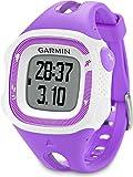 Garmin Forerunner 15 GPS Running con Funzione Contapassi, Misura Small, Viola/Bianco