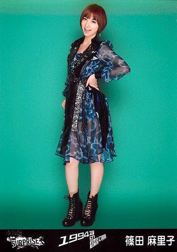 AKB48 公式生写真 チームサプライズ 1994年の雷鳴 パチンコホールVer. 【篠田麻里子】