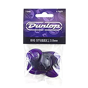 Dunlop Big Stubby Picks, 3.0mm