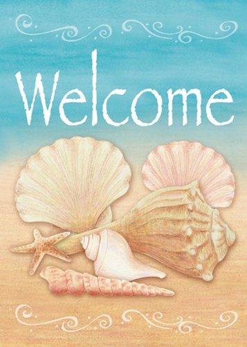 Seashell Flip Flops front-480553
