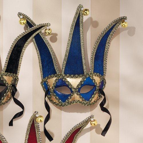 hand crafted painted venetian carnival masks