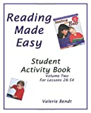 Reading Made Easy Student Activity Book Two: A student workbook for Reading Made Easy