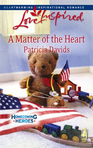 Image of A Matter of the Heart (Homecoming Heroes, Book 4) (Love Inspired #464)