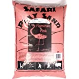 Flamingo Pink Safari Play Sand for Playpit Sandpit   Coloured Sand   Non-staining   Clean   Non-toxic   14KG