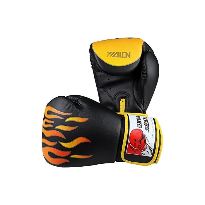 Wolon Coppia di guanti boxe in PU 10 Oz per i allenamenti e in palestra: prezzi, offerte vendita online