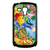 Winnie the Pooh Eeyore Piglet Custom Durable Back Cover Cases for Samsung Galaxy SIII mini i8190
