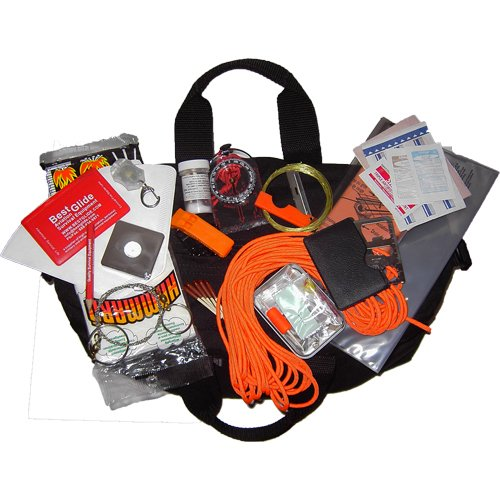 Wilderness Guardian Survival Kit - Red