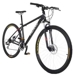 Vilano Blackjack 29er Mountain Bike with 29-Inch Wheels, Black, 17-Inch